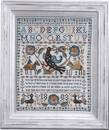 Portuguese Bird Sampler CHART by Barbara Ana Designs