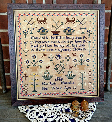 Martha Howells 1849 by Scattered Seed Samplers