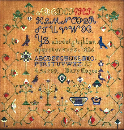 Mary Magee 1826 by Needlework Press