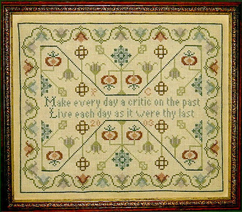 Live Each Day Sampler by PLC Traditional Samplers