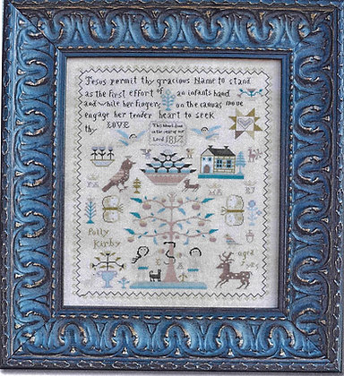 *Polly Kirby Sampler CHART by Barbara Ana Designs