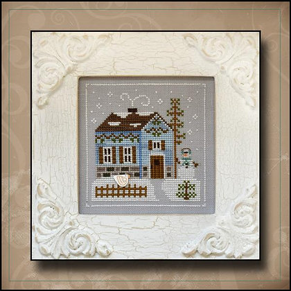 Frosty Forest:Snowgirl's Cottage by Country Cottage Needleworks