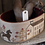 Thumbnail: Primrose Farm Sewing Basket & Heart Pinkeep by Stacy Nash Primitives