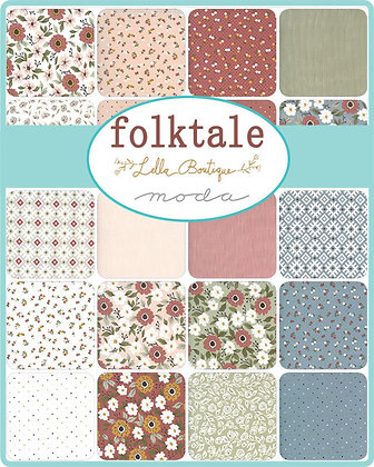 Lella Boutique FOLKTALE Fat Quarter Bundle by Moda