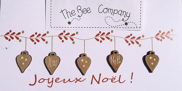Hearts Ornament Collection by The Bee Company TB4P2
