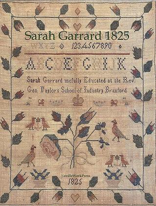 Sarah Garrard 1825 by Needlework Press