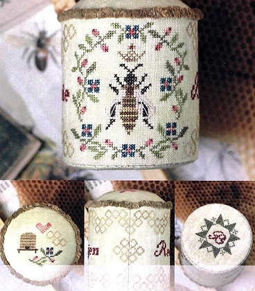 Honey Bee Pin Drum by Heartstring Samplery
