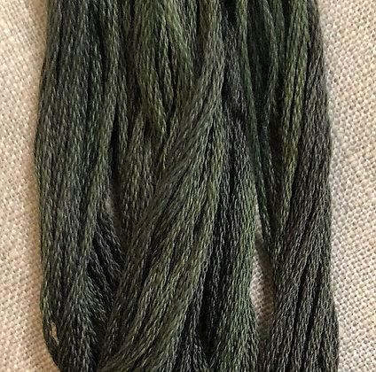 Balsam Fir Classic Colorworks Cotton Threads 5-yard Skein