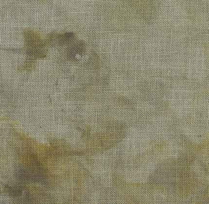 36 Count Early Halloween Fat Quarter Hand-Dyed Linen by xJudesign