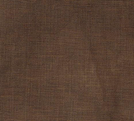 40 Count Dark Mocha Brown Fat Quarter Hand-Dyed Linen by xJudesign