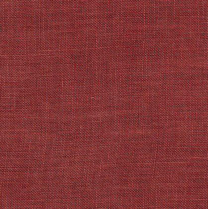 40 Count Aztec Red Zweigart Fat Quarter Hand-Dyed Linen by Weeks Dye Wor