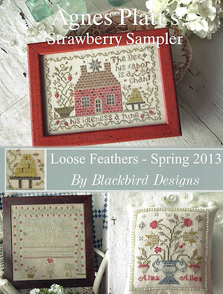 Agnes Platt's Strawberry Sampler by Blackbird Designs