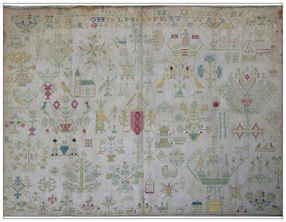 *Marquoir de Frise 1716 by Reflets de Soie