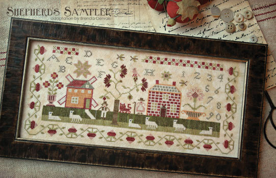 Shepherd's Sampler by With Thy Needle & Thread Brenda Gervais