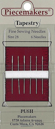 Piecemakers Size 28 Tapestry Needles (Pack of Six)