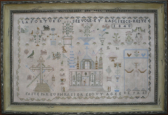 Euphrasier Enout 1840: A French Cathedral Sampler by Shakespeare's Peddler