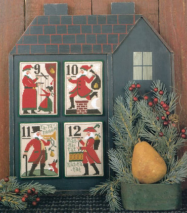 Santa's 12 Days of Christmas 9-12 by The Prairie Schooler