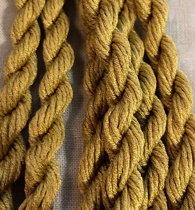 Italian Gold Gloriana 12-Strand Silk 6 Yards
