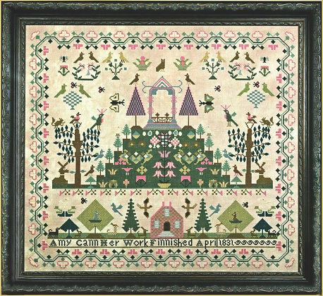 Amy Cann 1831 by Hands Across the Sea Samplers