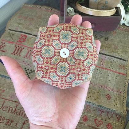 Hannah's Sampler Biscornu by Stacy Nash Primitives