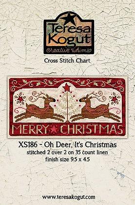 *Oh Deer, It's Christmas by Teresa Kogut