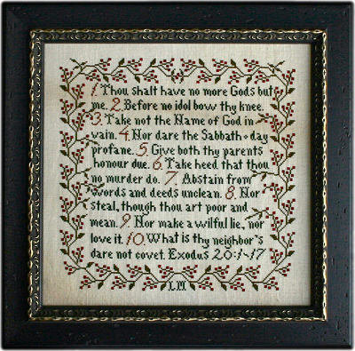 Commandments by La-D-Da