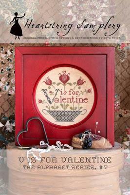 V is for Valentine by Heartstring Samplery