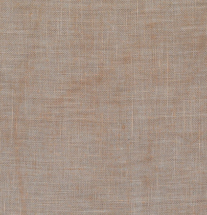 36 Count Cocoa Powder Fat Quarter Hand-Dyed Linen by xJudesign