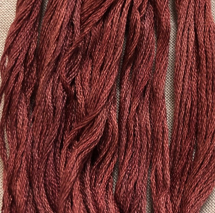 Old Red Paint Sampler Threads by The Gentle Art 5-Yard Skein