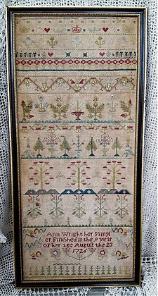Ann Wright 1726 by Samplers Not Forgotten