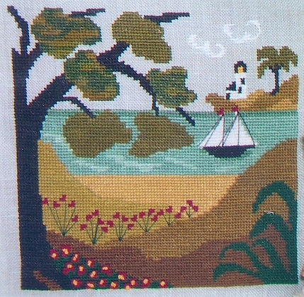 CATS Summer Shade by By the Bay Needleart