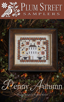 CATS Penny Autumn by Plum Street Samplers