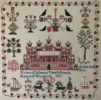 Margaret Woodcock by Hewitt Hill Samplers