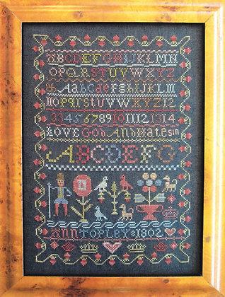 Ann Topley 1802 by The Scarlett House