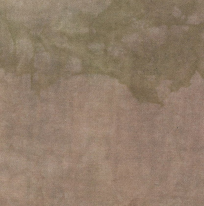 36 Count Cocoa Fat Quarter Hand-Dyed Linen by Fiber on a Whim