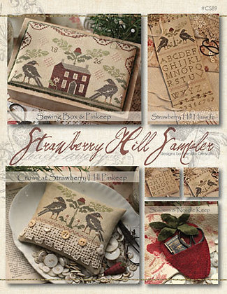 Strawberry Hill Sampler by With Thy Needle & Thread