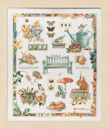Four Seasons Collage KIT by Marjolein Bastin