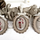 Thumbnail: Red Oval Ornament Frame (ONE) by The Bee Company TC11R