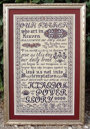 The Lord's Prayer by My Big Toe Designs