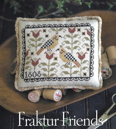 CATS Fraktur Friends by Plum Street Samplers