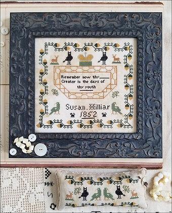 OVERSTOCK Susan Hilliar 1852 by Kathy Barrick