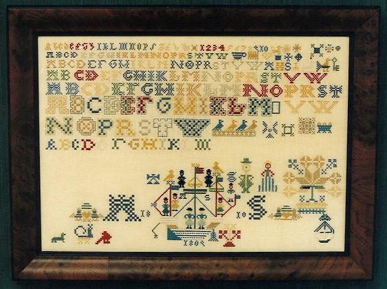 AS 1810 Dutch Sampler by The Samplar Workes