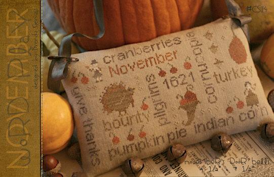 November Word Play by With Thy Needle & Thread