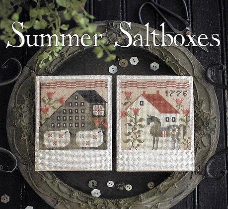 Summer Saltboxes by Plum Street Samplers