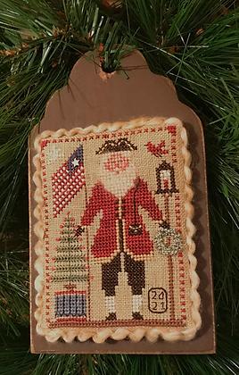 2021 Annual Santa Ornament by Homespun Elegance
