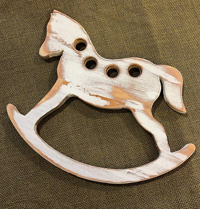 Victorian Rocking Horse Thread Keep by The Primitive Hare