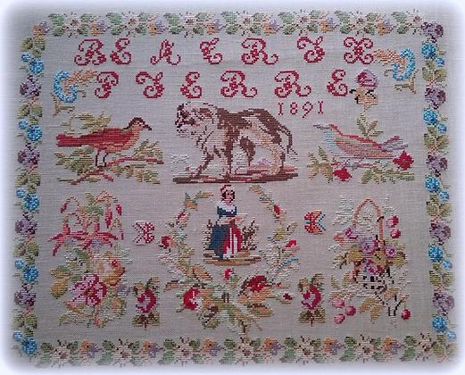 Beatrix Pierre 1891 by Reflets de Soie