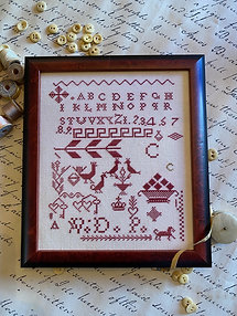 NASH-STASH Carmella's Red Sampler by Hands to Work