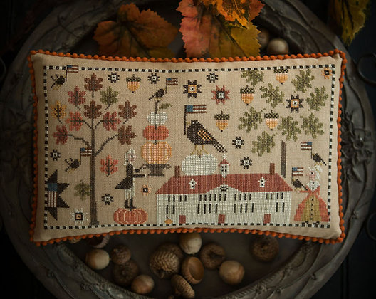 George Decorates for Martha by Plum Street Samplers