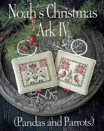 *Noah's Christmas Ark IV by Plum Street Samplers